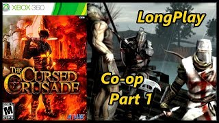 The Cursed Crusade - Longplay (Co-op) Part 1 Walkthrough (No Commentary)