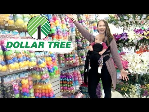 New At Dollar Tree Shop With Me!  Spring & Easter 2020!