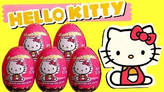 Hello Kitty Huevos Sorpresa ハローキティ Easter SURPRISE Eggs by ToysCollector