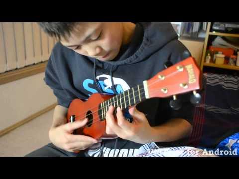 Super Mario Bros Theme song in Ukulele - Beginner!