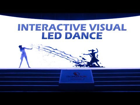 Nestle/ Interactive/ Performance /LED Visual Act/ Zenith Dance Company/ New Delhi /India