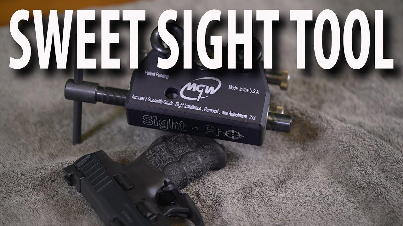Hk Vp 9 Sight Change Trijicon Hd Mgw Sight Pro Youtube