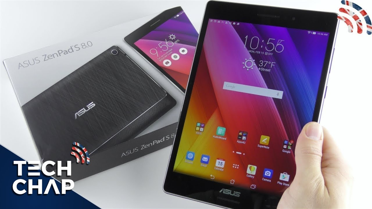 ASUS ZenPad S 8.0 Android Tablet UNBOXING - YouTube