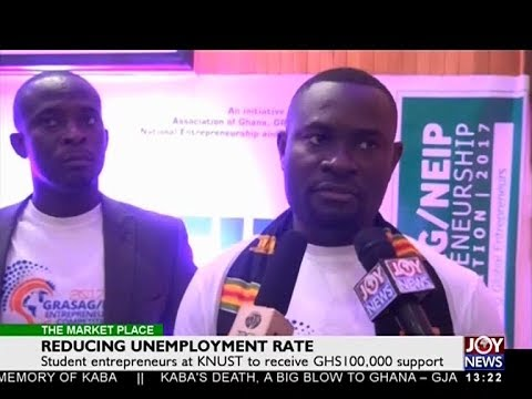 Reducing Unemployment Rate - The Market Place on Joy News (20-11-17)