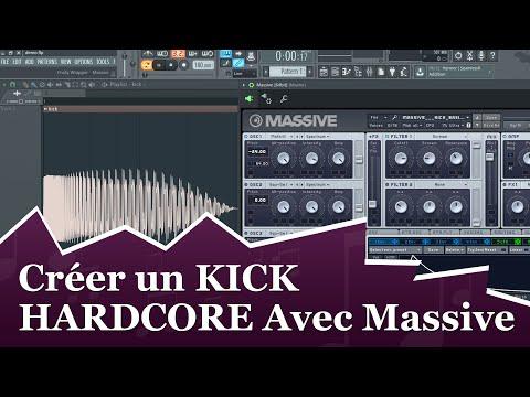 SOUND DESIGN : CRÉER UN KICK HARDCORE AVEC MASSIVE