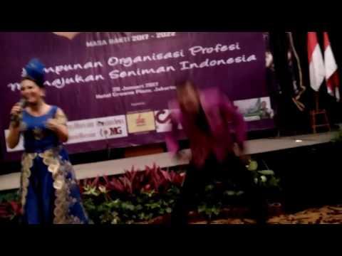Lagu; Woww Keren Bingit, Vokal Helsy Herlinda acara HAPSI Himpunan Artis Pengusaha Seluruh Indonesia