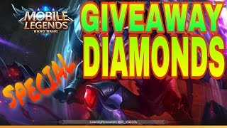 SPECIAL GIVEAWAY  MOBILE LEGENDS #2