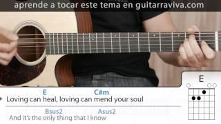 Como tocar Photograph en guitarra ACORDES