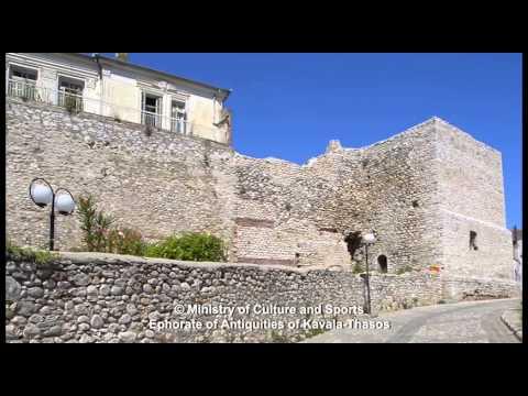 Drama's Castle (Byzantine Walls) and Church of St. Sophia