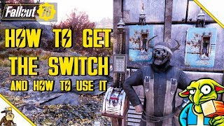 fallout 76 building - How to get the Switch Plan - (fallout 76 metal Switch)