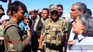 Askerden Gültan Kisanak'a Osmanli tokati Bozkurt caps'e Destek