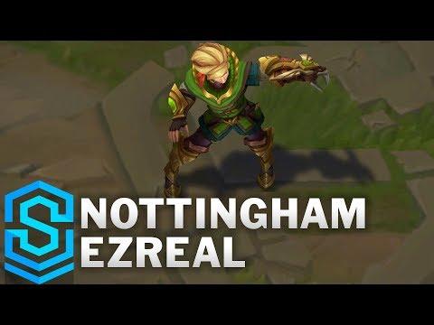 Nottingham Ezreal (2018) Skin Spotlight - League of Legends