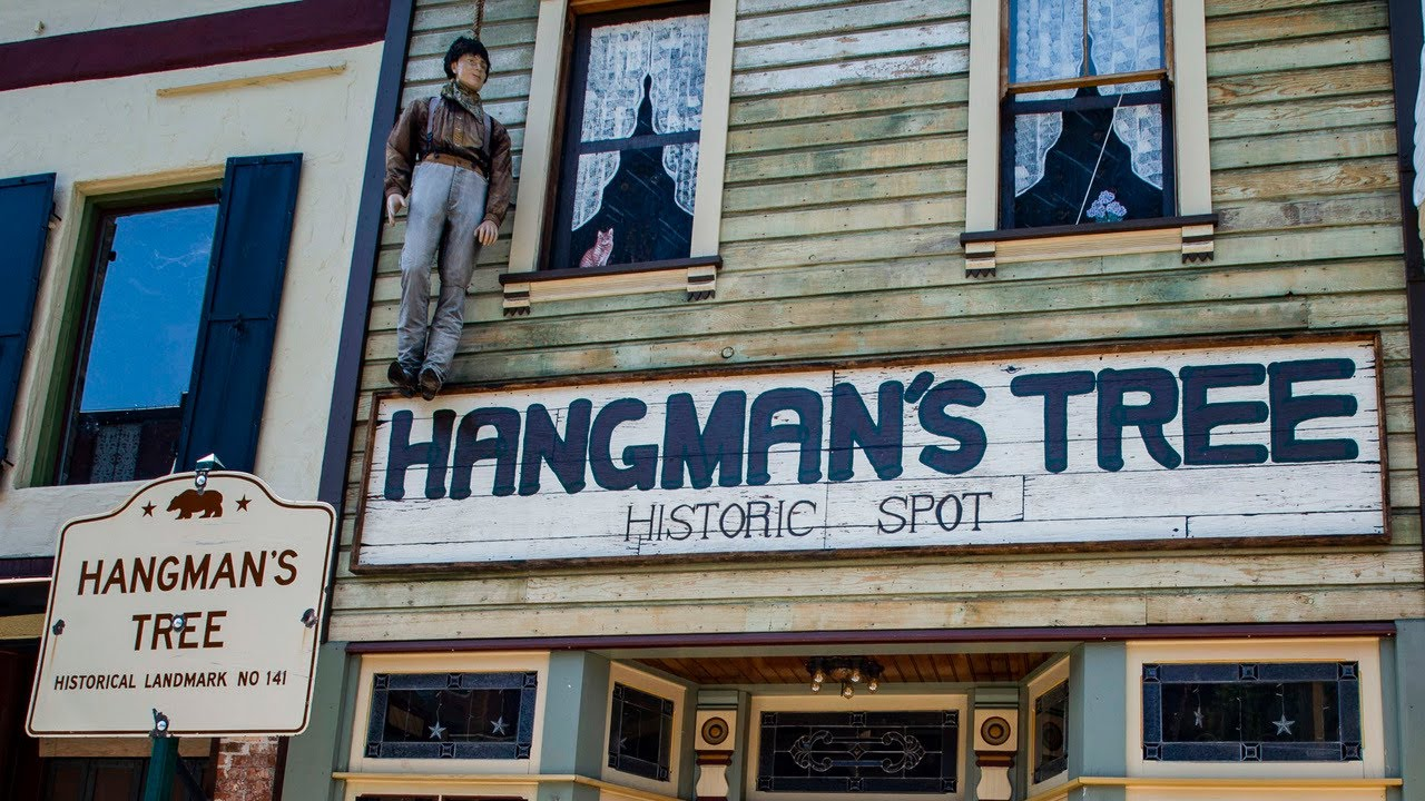 'It's part of our history.' Placerville's hanging dummy is back despite criticism
