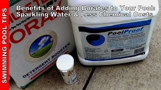 Benefits of Adding Borate to your Pool: Sparkling Water & Less Chemical Costs