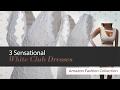 3 Sensational White Club Dresses Amazon Fashion Collection