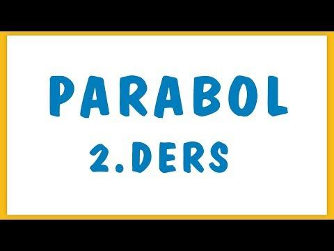 Parabol 2. Ders Şenol Hoca Matematik