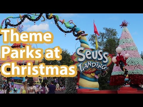 [First Look] Christmas at Islands of Adventure | Whats New at Universal Studios Islands of Adventure