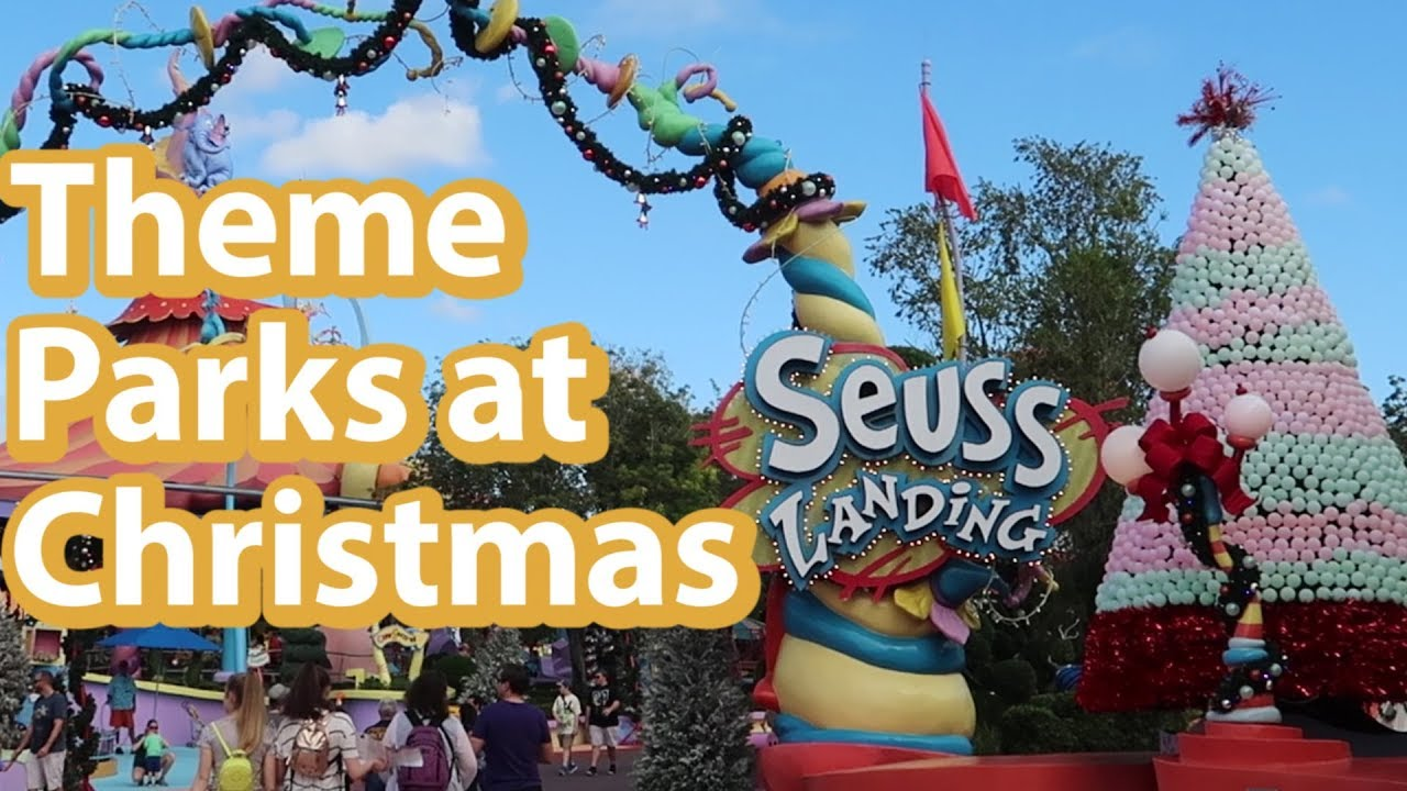 Island Christmas Theme.Christmas At Islands Of Adventure Whats New At Universal Studios Islands Of Adventure