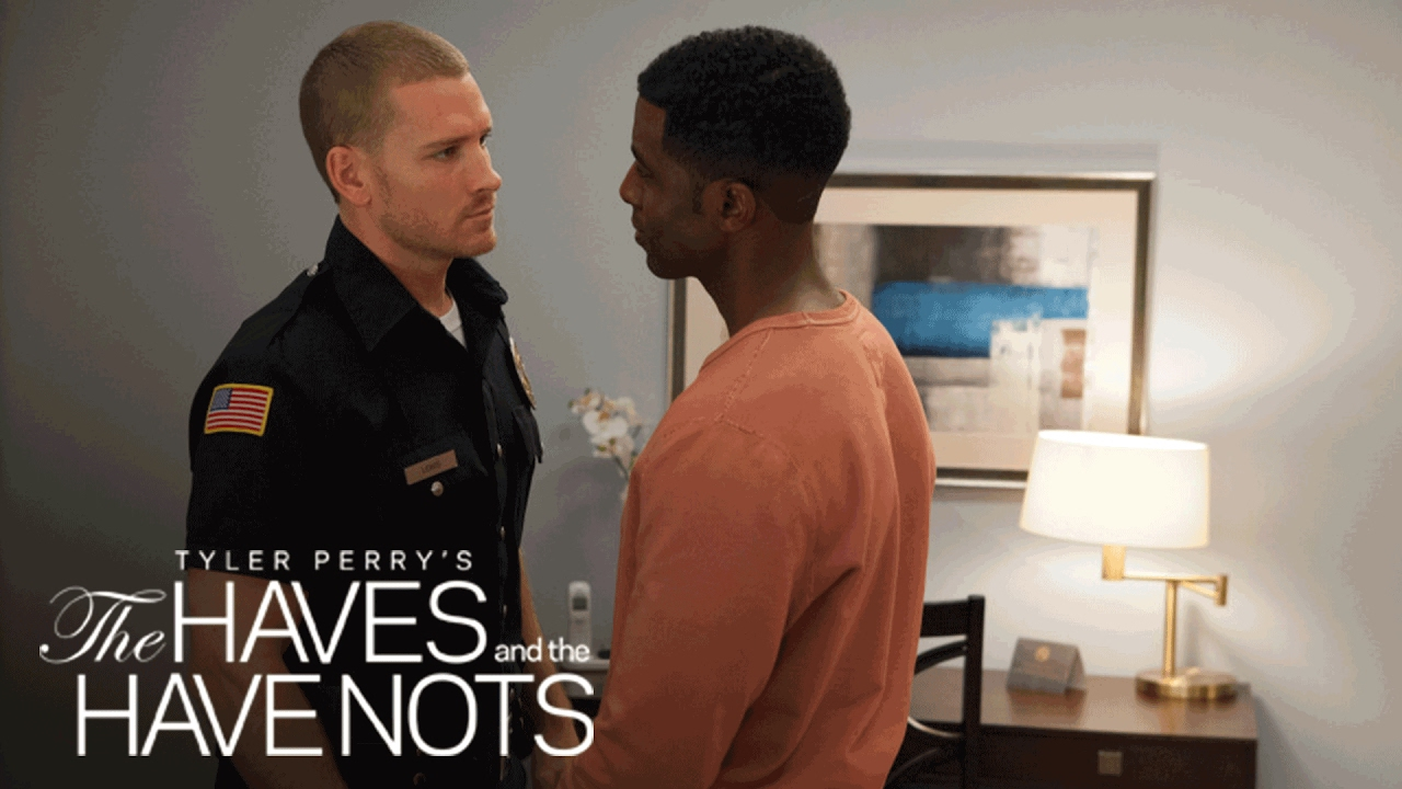 Download Officer Justin is Falling for Jeffery   Tyler Perry's The Haves and the Have Nots   OWN