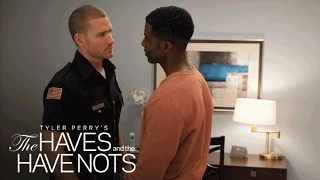 Officer Justin is Falling for Jeffery | Tyler Perry's The Haves and the Have Nots | OWN
