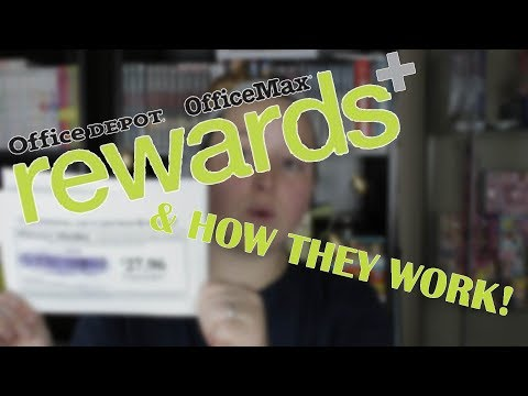 Office Depot Rewards & How They Work!!!!!!!