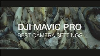 DJI Mavic Pro | The Best Mavic Pro Camera Settings for Cinematic Look