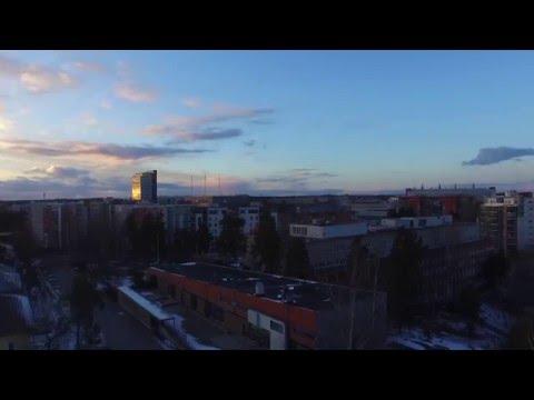 Helsinki, March 2016 Sunset