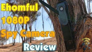 Review Ehomful Mini Body Camera HD 1080P Hidden Spy Camera