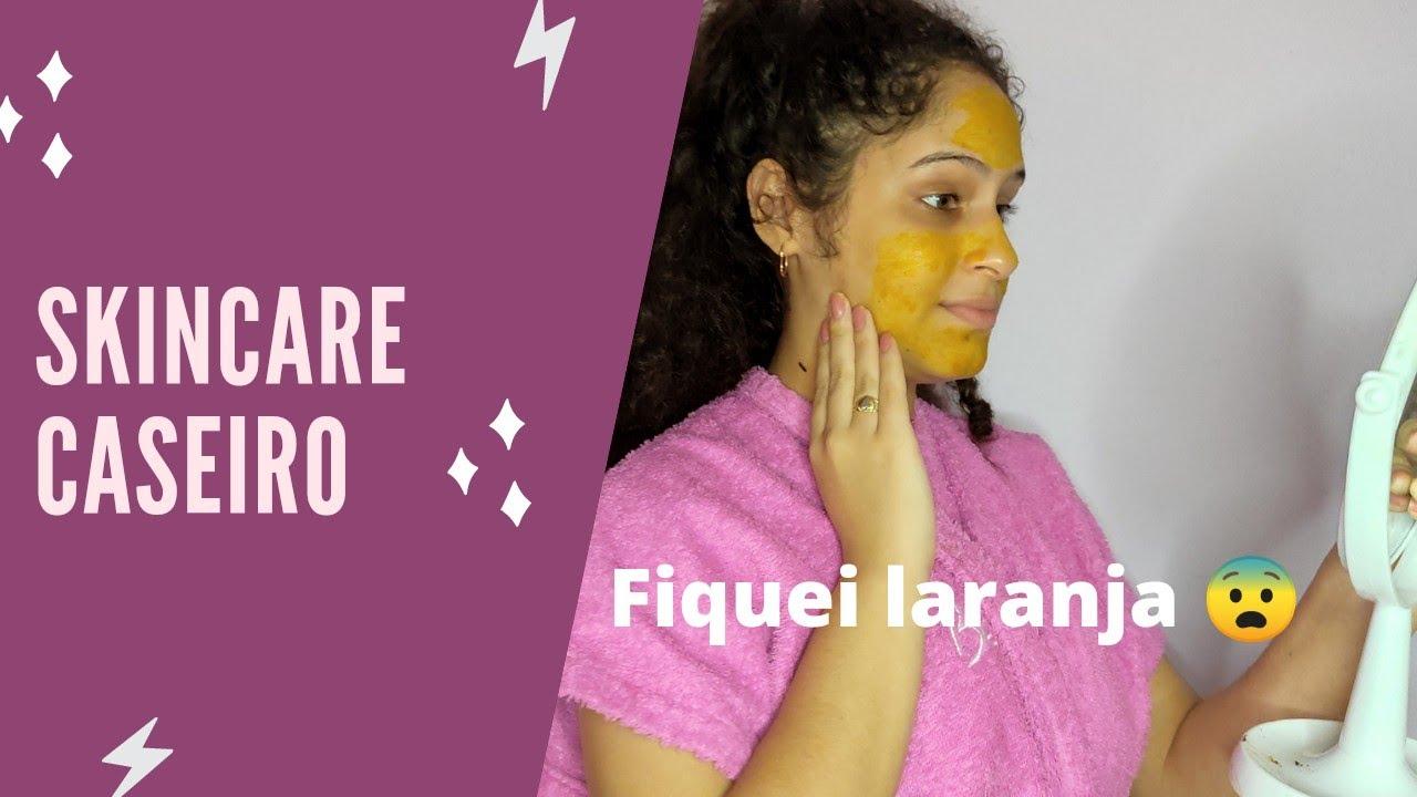 FIZ SKINCARE CASEIRO| deu ruim!? #skincare #beleza #spar #caseiro
