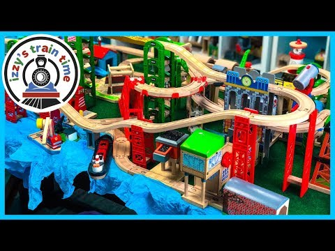 Thomas and Friends BIGJIGS TURNTABLE AND WATERFALLS GALORE! Fun Toy Trains for Kids!