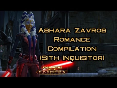 SWTOR: Ashara Zavros Romance compilation (Sith Inquisitor)