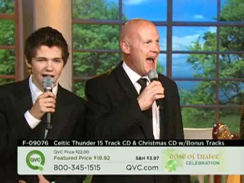 Celtic Thunder QVC We Wish You a Merry Christmas Teaser