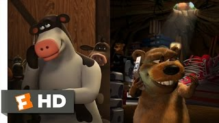 Barnyard (2/10) Movie CLIP - Wrong Number (2006) HD