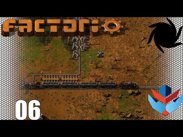 Factorio 1.0 Multiplayer 1K SPM Challenge - 06 - Trains!