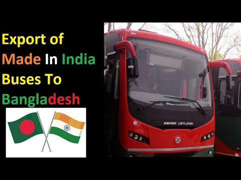 Made In India Buses Export To Bangladesh | BRTC Made In India Buses