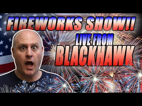 💥LIVE Firework Show from Blackhawk! Chat with the Raja! - 동영상