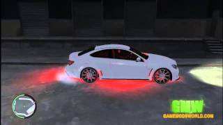 GTA IV Mods: Mercedes-Benz C 63 AMG | Download
