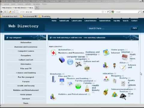 Free Web Directory & Add URL Free - Free Directory Submission