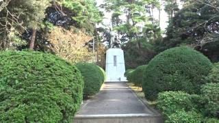 吉田松陰誕生地墓地と志士の墓所 萩市 山口県.