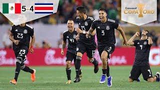 México avanza a Semifinales | México 1 (5) - (4) 1 Costa Rica | Copa Oro 2019 | Televisa Deportes