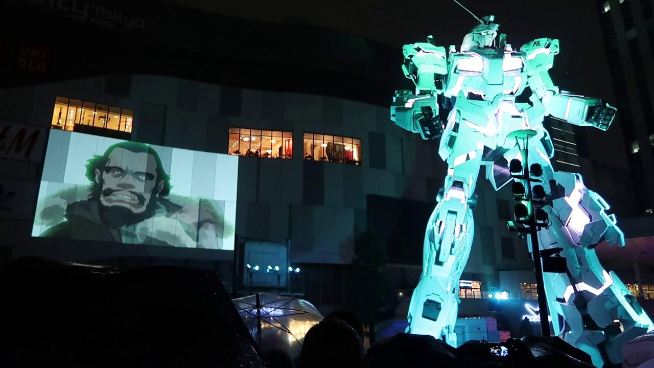 ダイバーシティ東京 プラザ Unicorn Gundam NT-D 台場 獨角獸鋼彈