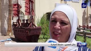 رحلة للإعلاميين والباحثين إلى القويرة ووادي رم والديسة  - (18-7-2019)