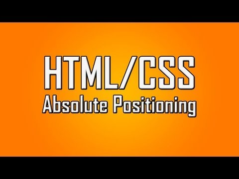 Learn HTML/CSS - #18 - Absolute Positioning