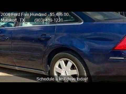 2006 Ford Five Hundred SE 4dr Sedan for sale in Malakoff, TX