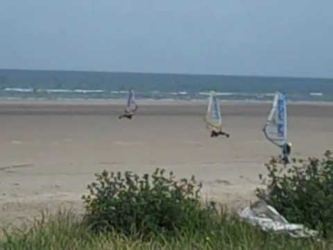 Land Yachting on West Sands