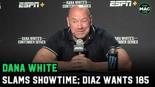 Dana White: Nick Diaz wants Robbie Lawler at 185, but Lawler hasn't said yes; blasts \