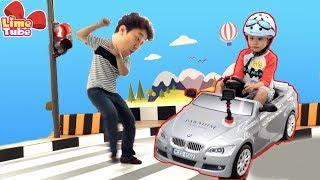 라임 운전면허 시험을 보다! 부산 파라다이스 호텔 어린이 교통안전교육  BMW 자동차 체험 놀이 LimeTube & Toy 라임튜브