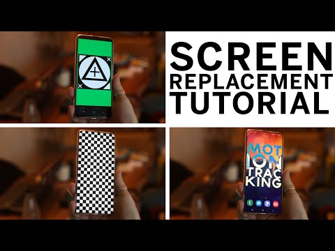 Screen Replacement with Mocha in After Effects 2020
