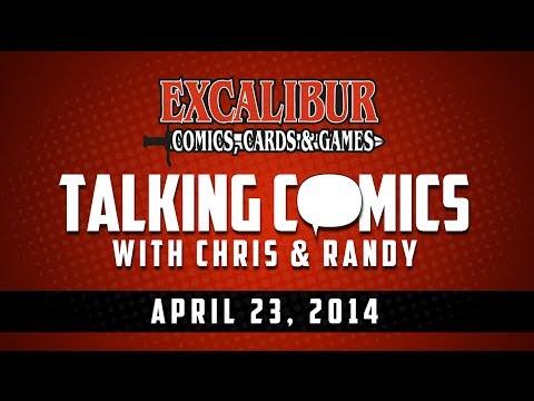 Talking Comics For 04.23.14 - Elektra #1, Secret Origins #1, Conan The Avenger #1, 24 #1, & More!
