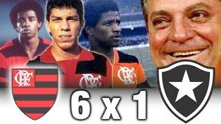 Flamengo 6 x 1 Botafogo * Brasileiro 1985 * Melhores Momentos